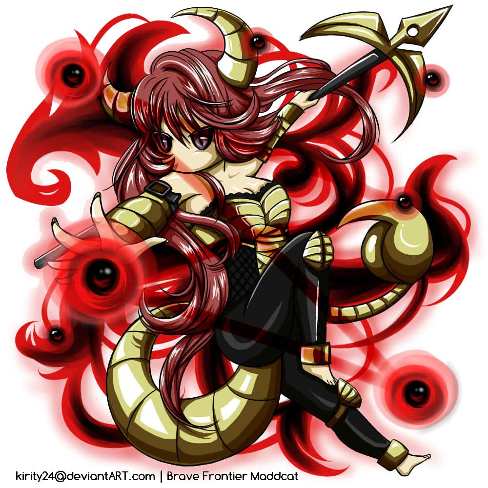 Brave Frontier Character Design Contest : Brave frontier contest scorpion queen fiametta by