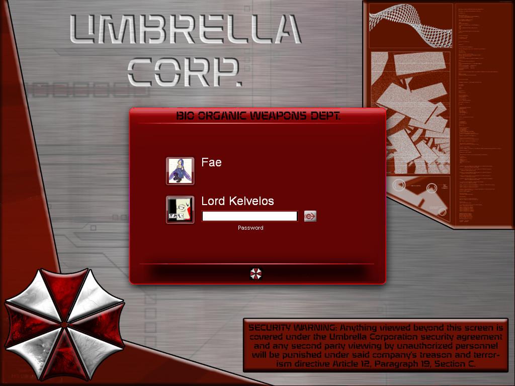 Lord Kelvelos Umbrella Logon by lordkelvelos