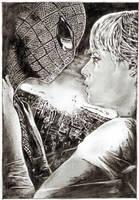 amazing spider-man by tengari