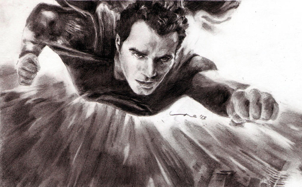 man of steel - superman by tengari