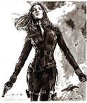 black widow - captain america: the winter soldier