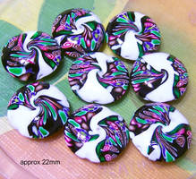 Polymer Clay Beads 09 by snowskin
