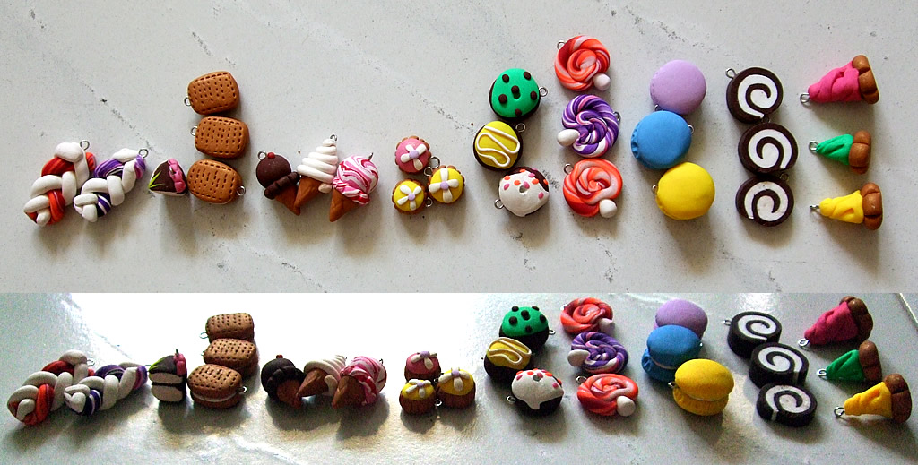 Polymer Clay - Sweet Treats 2 by snowskin