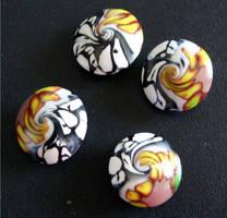 Clay Beads Custom Made 140409b by snowskin