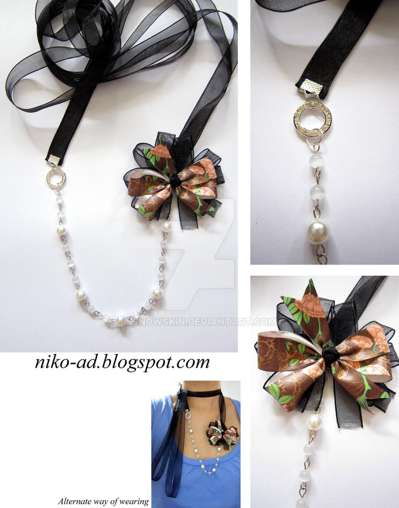 White Cat Ribbon Roses Mcm Mann Lxxxviipink Tale