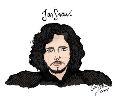 Jon Snow by AmyLeeKey