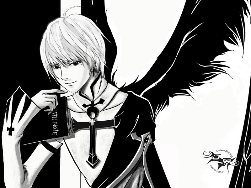 death note fans by X-seven