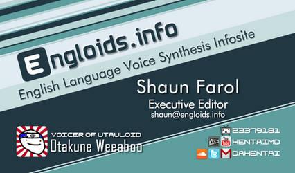 Engloids.Info 'Business Card' Concept