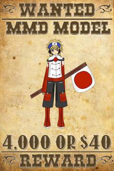 MMD Wanted: Otakune Weeaboo (Human Fanart)