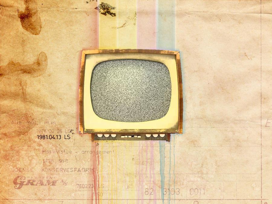 Vintage TV wallpaper by desize1996 on DeviantArt