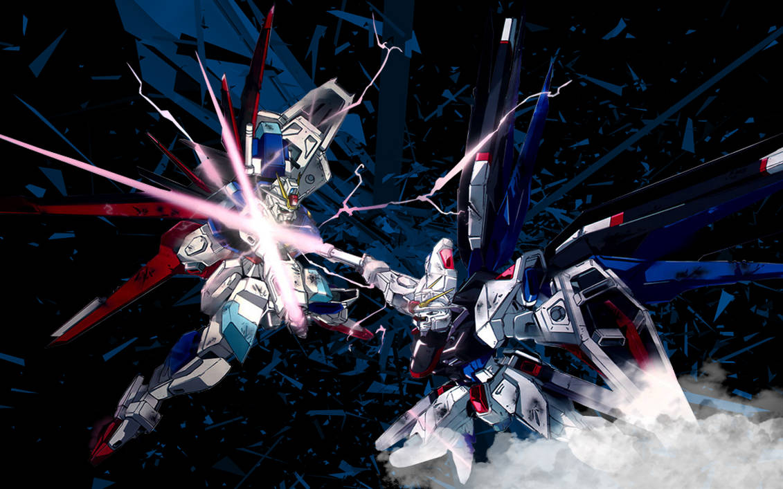 Gundam Seed Destiny Wallpaper By Shaunbaker On Deviantart