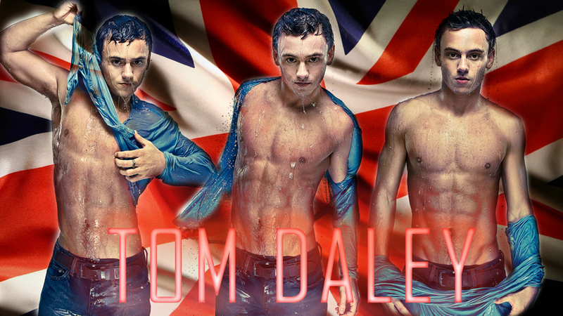 Tom Daley by J4MESG