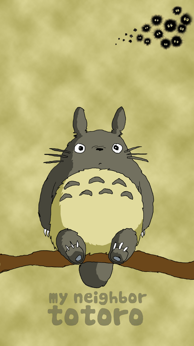 Totoro Sony Xperia Z Lockscreen by J4MESG on DeviantArt