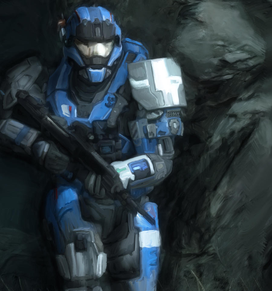 Halo Reach Carter by adamt4050 on DeviantArt