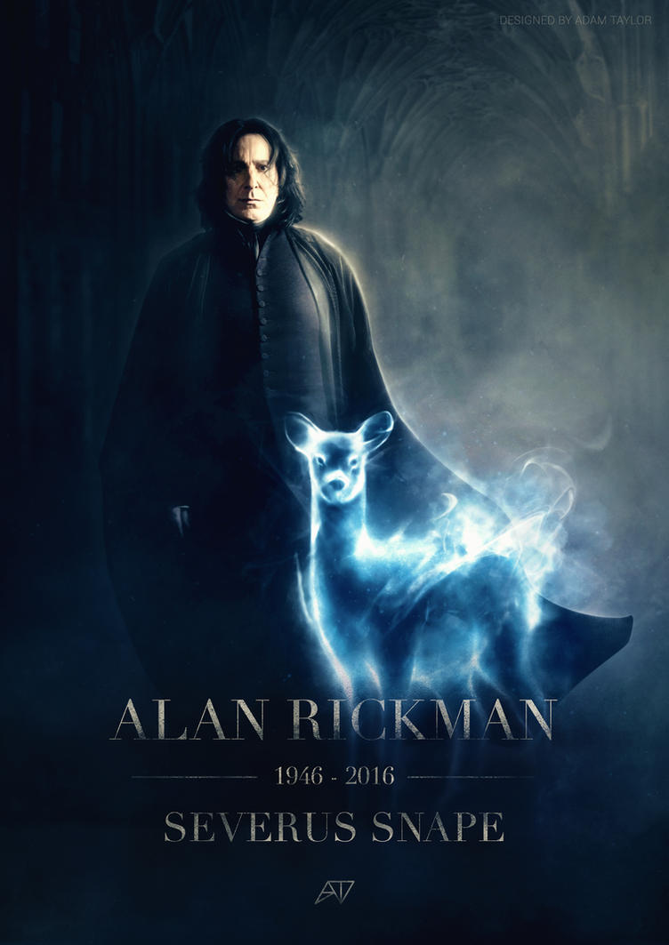 RIP Alan Rickman by TheAdamTaylor