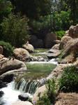 Japanese Garden - Waterfall 4