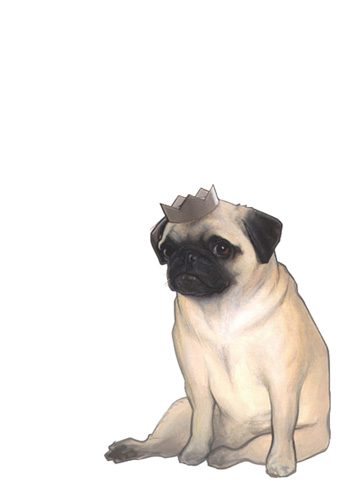 pug by AlexPerkins