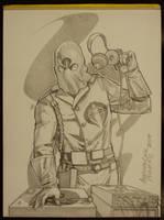 Cobra Commander by AlexPerkins