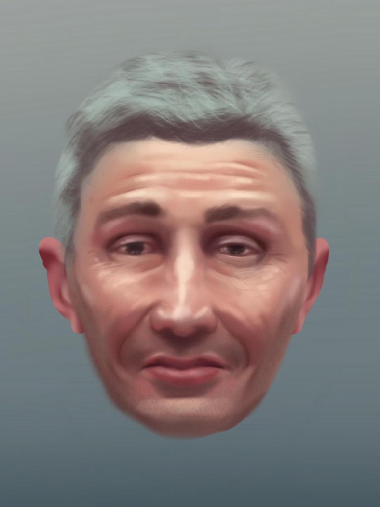 male portrait by fabbro85