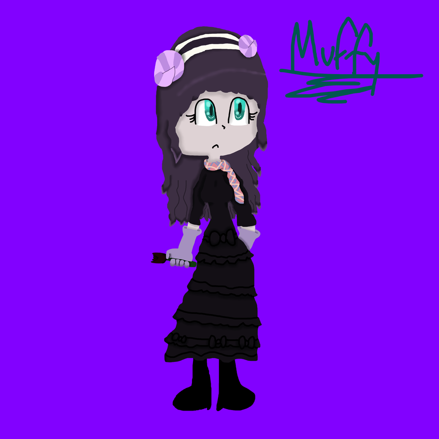 Human Muffy~ by DarkAngelofMinecraft