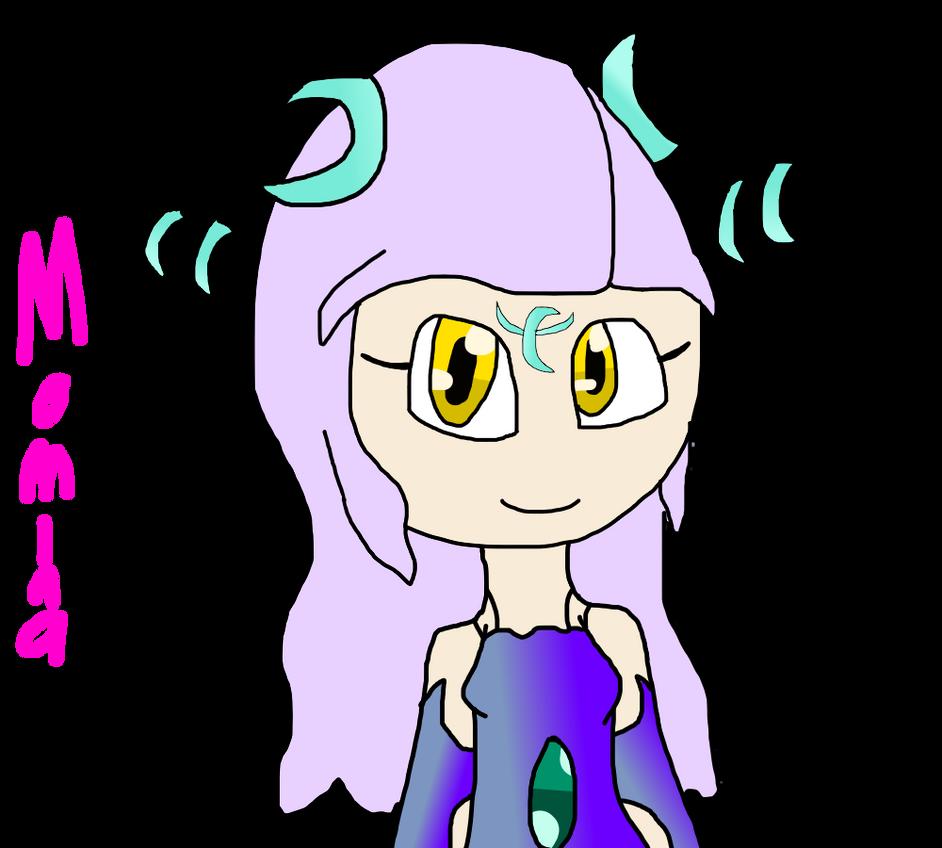 New OC- Momina The Moondrian by DarkAngelofMinecraft