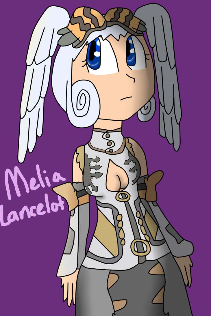 Melia Lancelot Outfit-  finished by DarkAngelofMinecraft