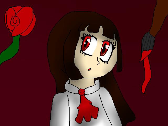 red rose by DarkAngelofMinecraft