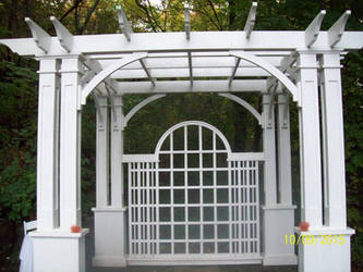 Wedding Arch by Musicislove12
