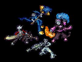 Four Will Ascend by Drazelic