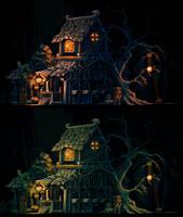 Night Shop by Drazelic