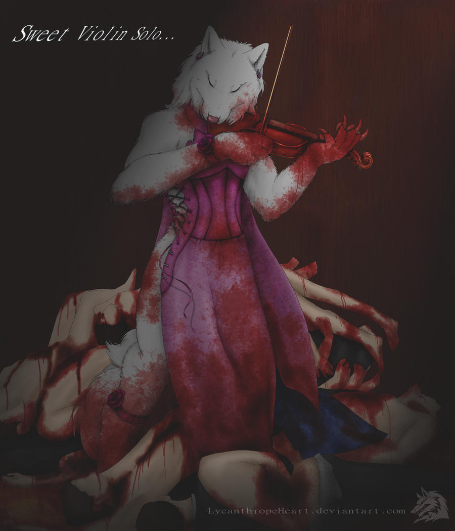 Sweet Violin Solo by LycanthropeHeart