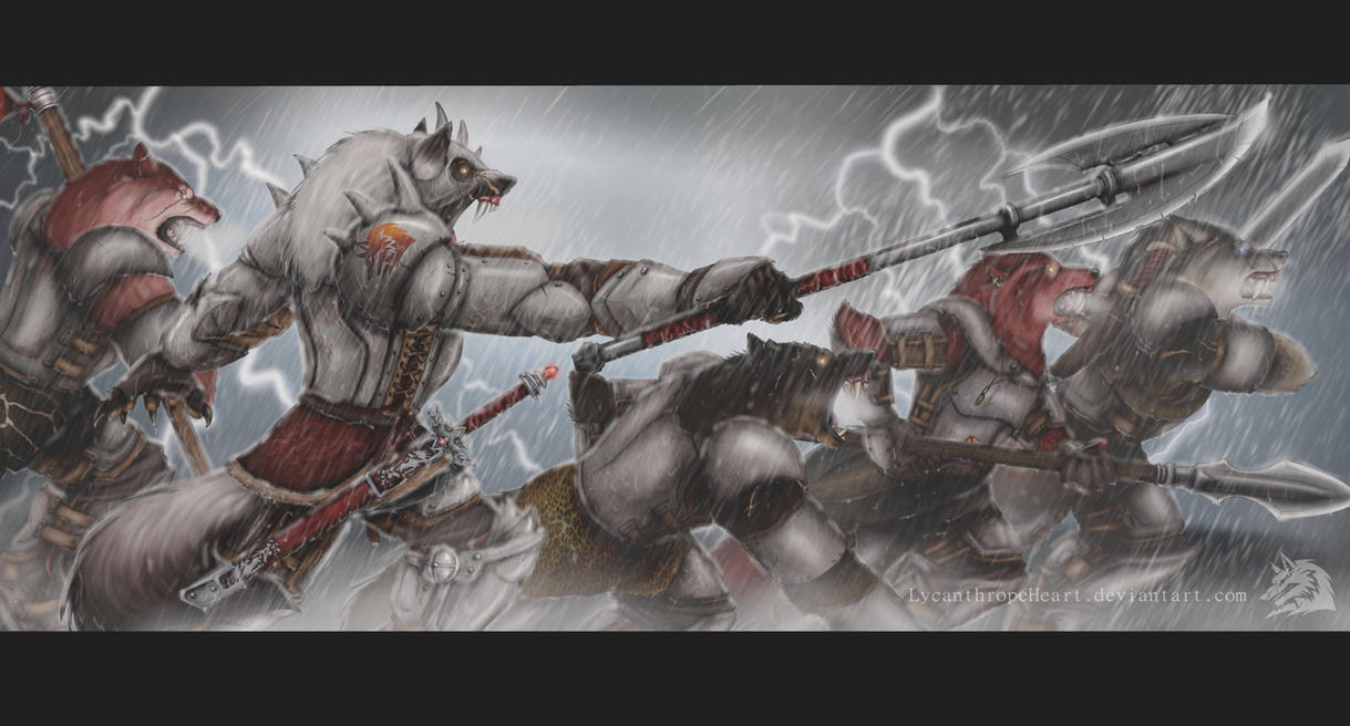 OC-We Will Fight! by LycanthropeHeart