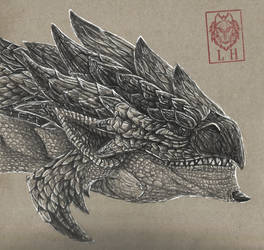 Rathalos by LycanthropeHeart