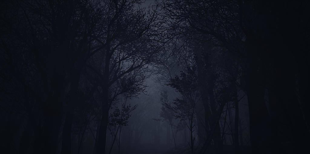 Creepy Forest - Unreal Engine 4 by JacopoColangelo on DeviantArt