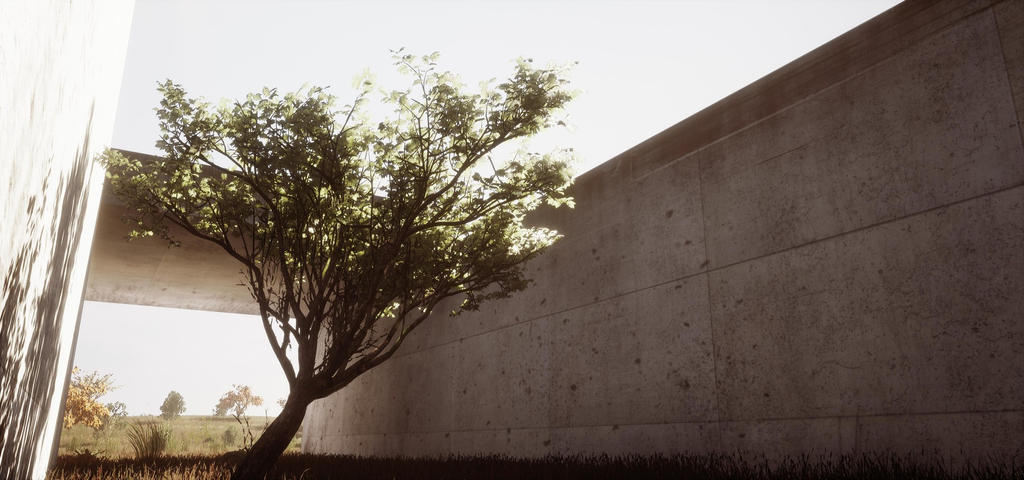 Abandoned Place (Tree) - Unreal Engine 4 by JacopoColangelo