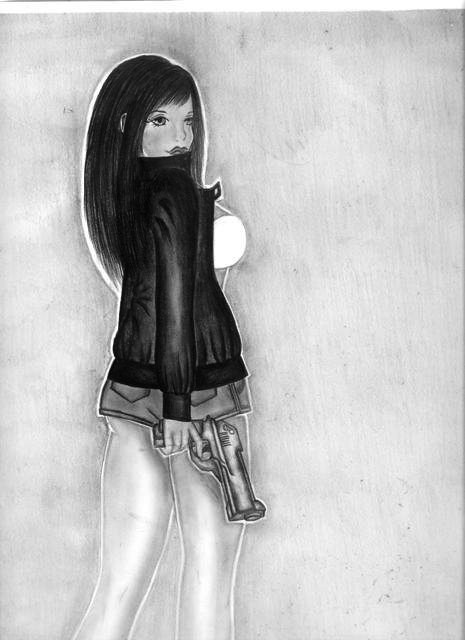 Dziewczyna. by Larellin