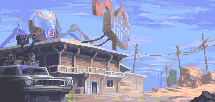 Roadside Inn by skittlefuck