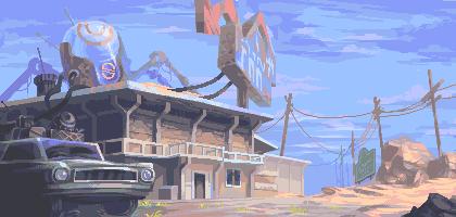 Roadside Inn by skittlefuck