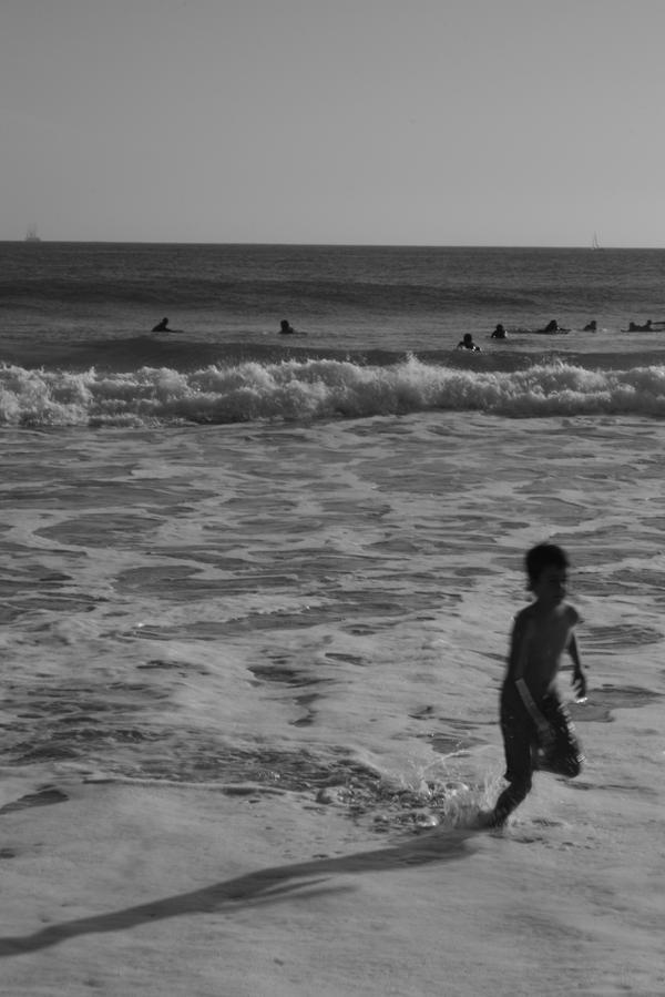 O menino do mar by Fabi-Tico