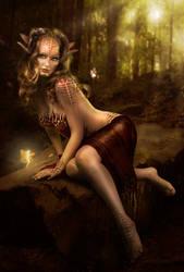 Autumn Elf by MadameThenadier