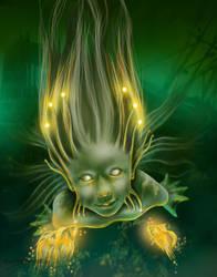 Water creature by MadameThenadier