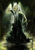 Shrieking hag by MadameThenadier