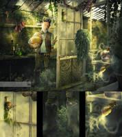 Peculiar plants details