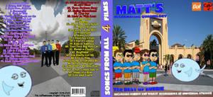 Matt's Misbehaving Quadrilogy CD Cover