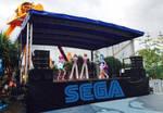 Pudding and Ulala's Guitar Showdown at Sega Land
