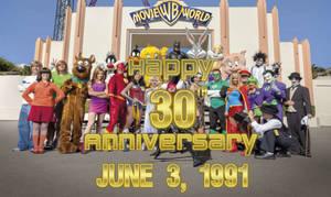 Happy 30th Anniversary to Warner Bros Movie World