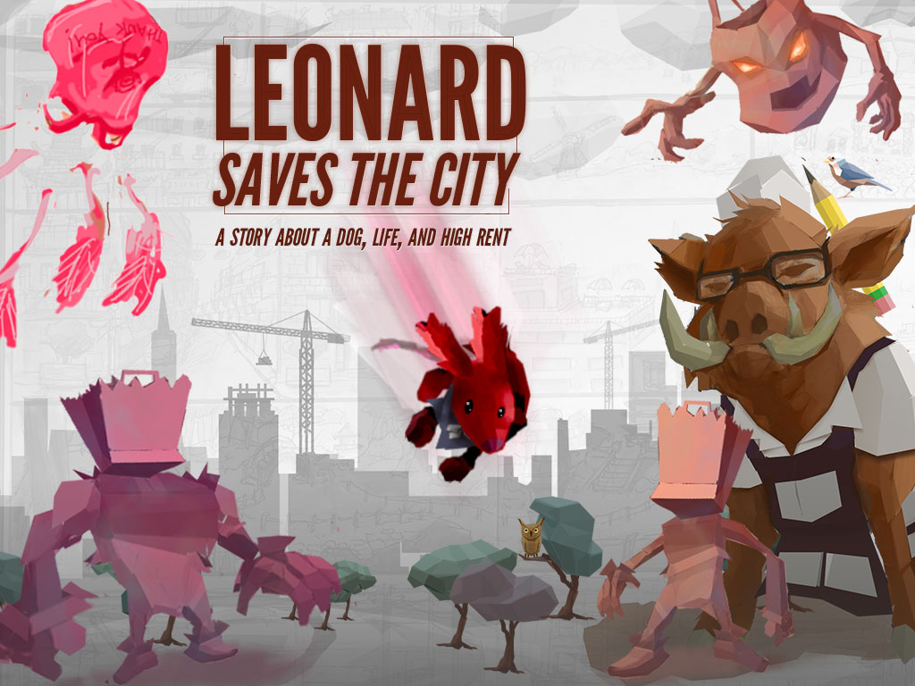 Leonard Saves the City Cover Art by Hoabert
