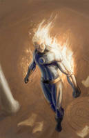 Johnny Storm Final by Hoabert