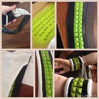 Noiz dmmd bracelet/wrist strap tutorial by Fifthstreak
