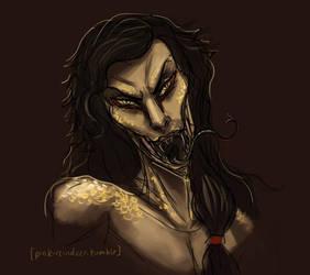 Tsaesci Warrior by Velothii